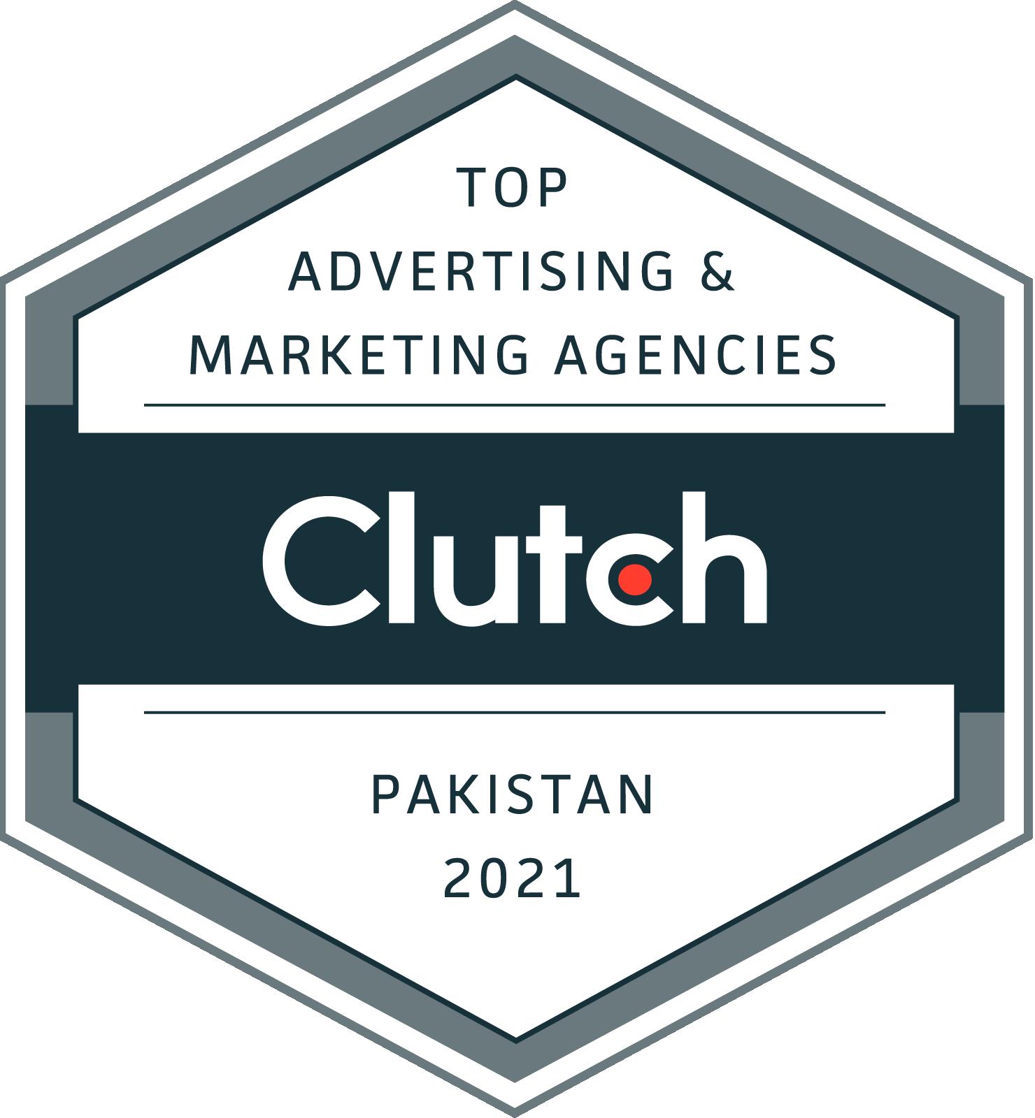 Top digital marketing agency of pakistan on clutch